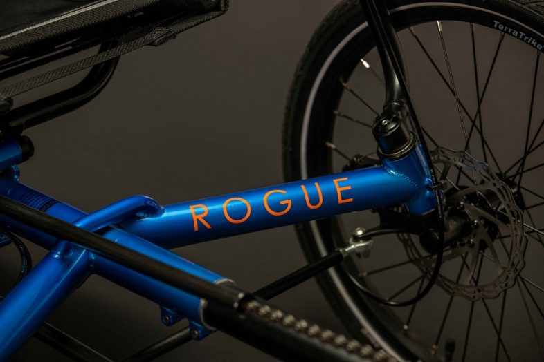Rogue comes in this new vibrant blue color