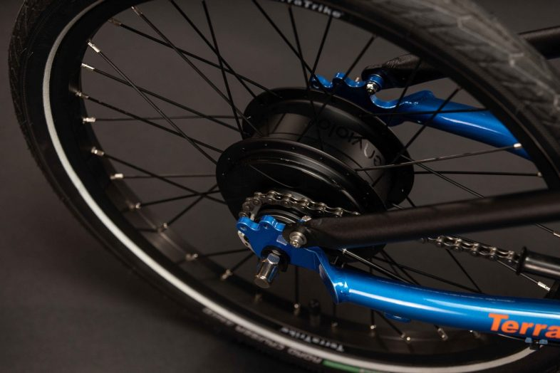 Rogue equipped with an Enviolo internal hub
